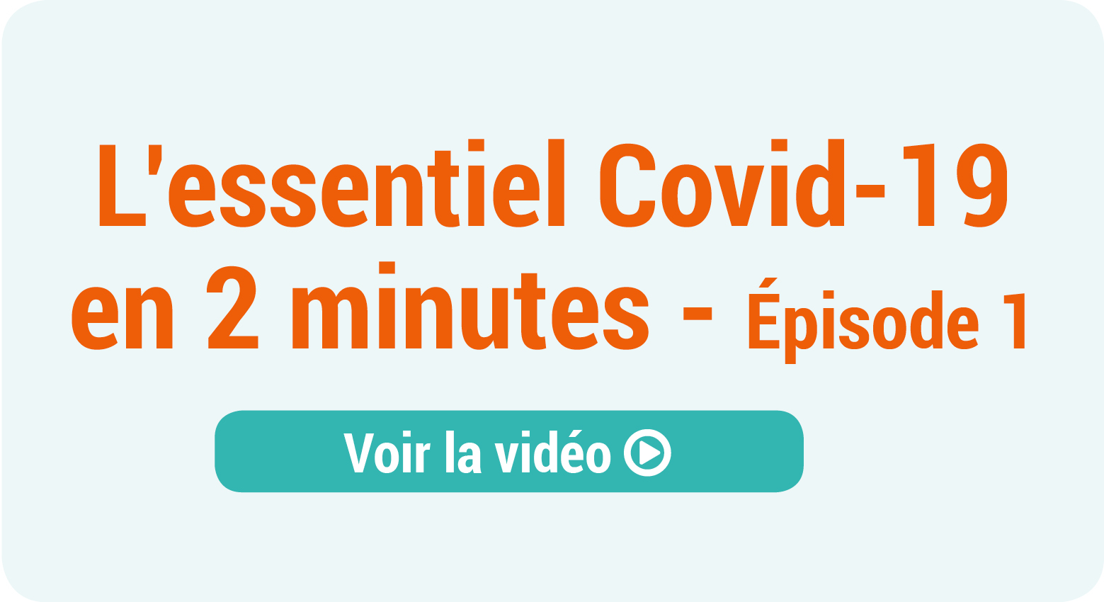 [ Covid 19 : Episode 1 ] Le cabinet de demain